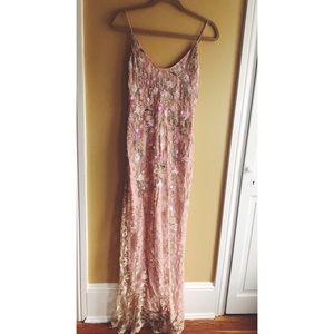 Badgley Mischka laced dress